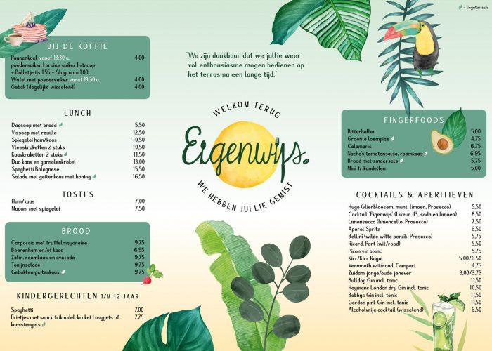 foto menu eigenwis
